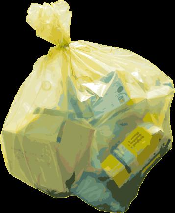 ventes spéciales super qualité vente usa en ligne Distribution sac jaune - Saint-Ouen-de-Thouberville
